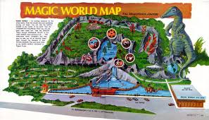 Magic Mountain Map And Everything Else Too Magic World
