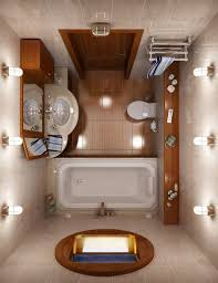 Small Bathroom Design Layout Decoration Ideas Creative Design With Rectangular Soaking Bathtub