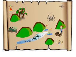 treasure map clipart treasure map clip at clker com vector clip