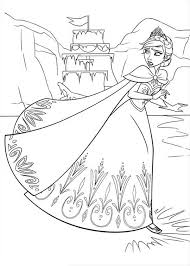 anna beautiful dress coloring anna beautiful dress
