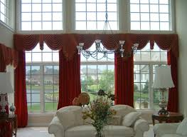 modern valances for living room l shape cozy laminated fabric