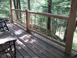 rustic deck railing ideas kimberly porch and garden great