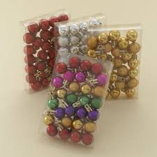mini ornament balls decore