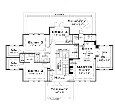 colonial style house plan 4 beds 4 00 baths 3347 sq ft plan 64 140 colonial style house plan 4 beds 4 00 baths 3347 sq ft plan 64