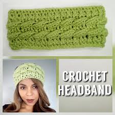 crochet hairband 3d crochet headband tutorial littlejohn s yarn