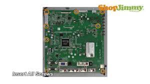 vizio 3632 1512 0150 main boards replacement for e321vl guide for