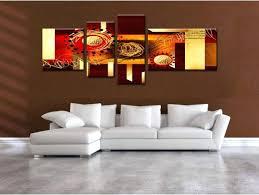 tableau d馗o chambre tableau deco peinture tableau moderne peinture abstraite marron
