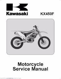kawasaki service workshop manual 2012 2013 u0026 2014 kx450f u2022 25 00