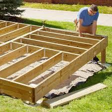 Deck Ideas For Backyard Platform Deck