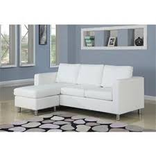 Faux Leather Sectional Sofa With Chaise White Faux Leather Sectional Sofa With Reversible Chaise Qolture