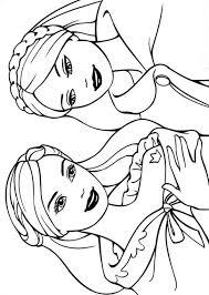 barbie princess pauper coloring pages kids coloring