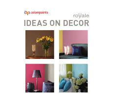 ideas on decor book web by asian paints limited issuu