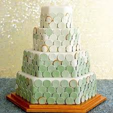 wedding cake green cakes by color instyle