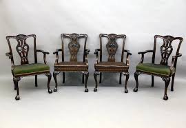Large And Fantastic Set Of  Antique Chippendale Dining Room - Chippendale dining room furniture