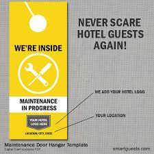 hotel door hanger template door hanger designs to promote your products