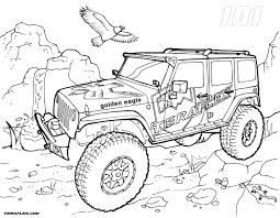 army jeep drawing transportation coloring pages for kids printable at jeep diaet me