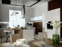kitchen colorfull modern kitchen design with green bar stool