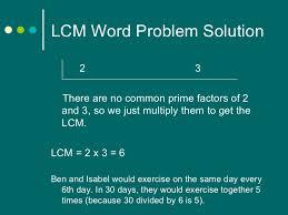 gcf lcm problem solving