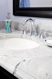 Super Modern Bathrooms - super white quartzite vanity modern bathroom boston
