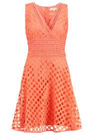 rene dhery derhy ladislas summer dress orange women clothing dresses