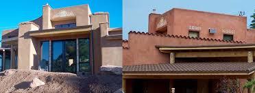 Adobe Style Home Santa Fe Style Homes Entry Contemporary With Designbuild Santa Fe