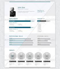 27 creative photoshop u0026 indesign resume templates wakaboom