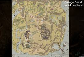 Secret Map The Secret World Lore Locations In Savage Coast Unfair Co