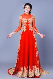 ao dai cuoi dep mẫu áo dài cưới đẹp cho cô dâu 2015 chuẩn bị cưới cưới hỏi