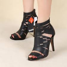 Comfortable Heels For Plus Size 2015 Summer Fashion Plus Size Women U0027s High Heels Cutout