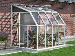 rion sun room 2 6 u0027 x 8 u0027 lean to greenhouse lean to
