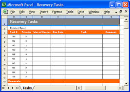 disaster recovery templates software software templates