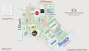 Florida Mall Floor Plan Panama City Fl Panama City Mall Retail Space For Lease Hendon
