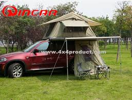 Side Awning Tent Tough Car Side Shade 4x4 Awning Tent Camping Roof Top 4wd Pull Out