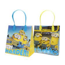 minion gift bags character zakka shop pretzel rakuten global market sale yu