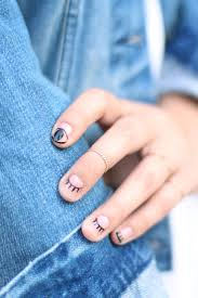 best 10 evil eye nails ideas on pinterest moon manicure