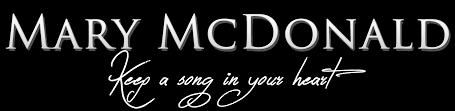 mary mcdonald music