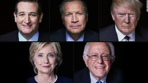 first five presidents who s running for president