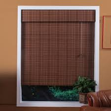 decor sylish mesmerizing brown wood cellular shades lowes with