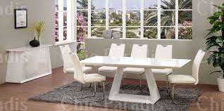 White Furniture Dining Sets A White Dining Table Matches Any Theme In Your Dining Room