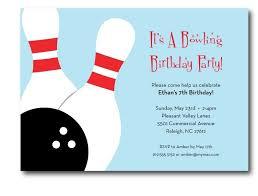 bowling birthday party invitation printable free invitations ideas