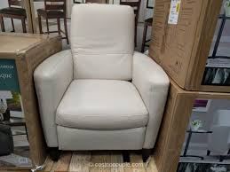 natuzzi group leather push back recliner costco family room