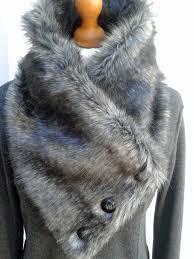 27 best designer made luxury faux fur and tartan infinity scarves
