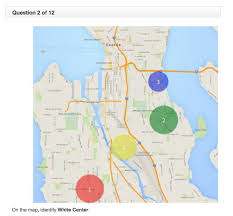 seattle map test here s the city knowledge test that uber drivers take in seattle