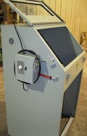 Used Blast Cabinet Cyclone Manufacturing Sandblasters Sand Blast Cabinets Media