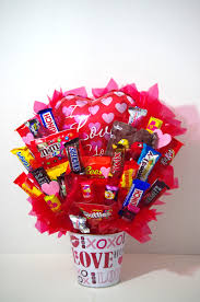 valentine u0027s day i love you gift candy bouquet and holidays