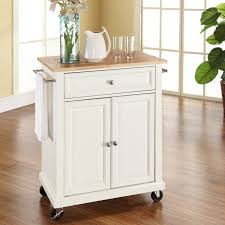 kitchen islands with drawers charlton home bexton kitchen cart with wood top reviews wayfair