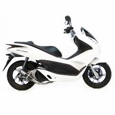 gp corsa carbon fiber for honda pcx 150 leovince