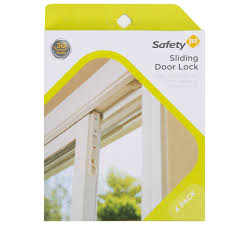 sliding glass door stop door child lock