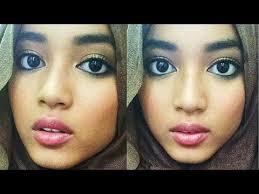Tutorial Make Up Natural Untuk Kulit Coklat | bronze skin nude lips makeup tutorial youtube