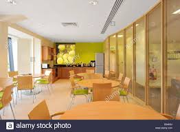 modern office kitchen and canteen stock photo royalty free image
